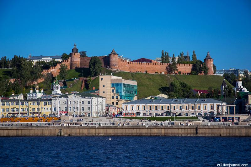 Нижний Новгород с Волги
