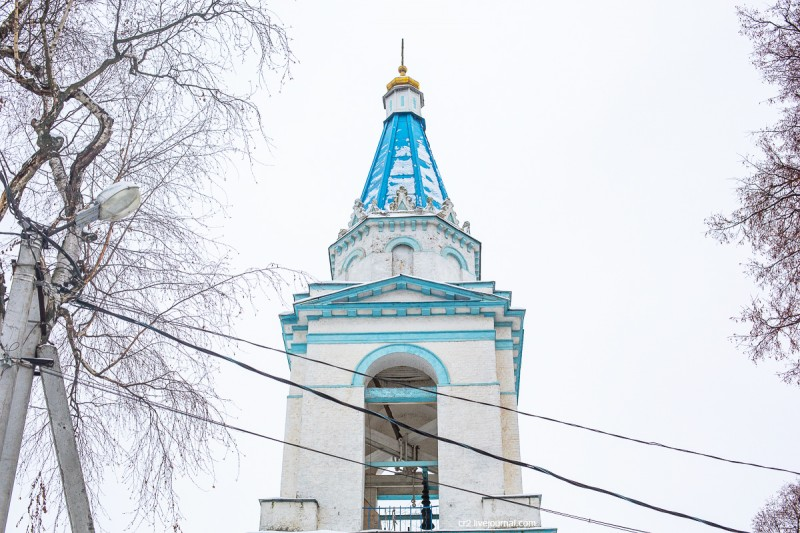 Храм Рождества Христова в Беседах (Московская область). Колокольня
