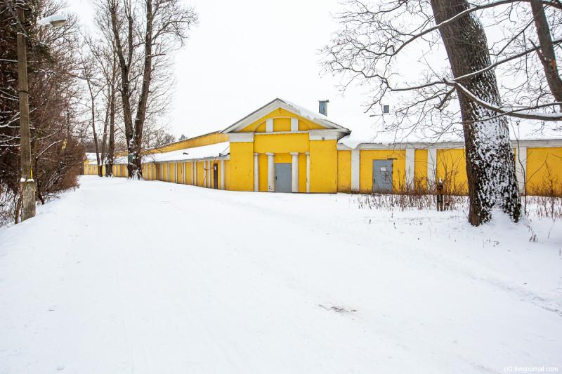 Оранжерея усадьбы Горенки. Московская область