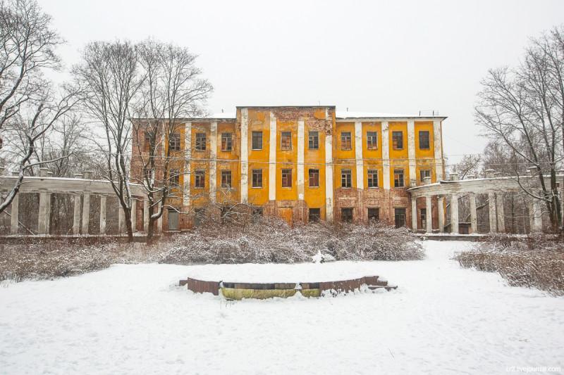 Усадьба Пехра-Яковлевское, главный дом. Московская область
