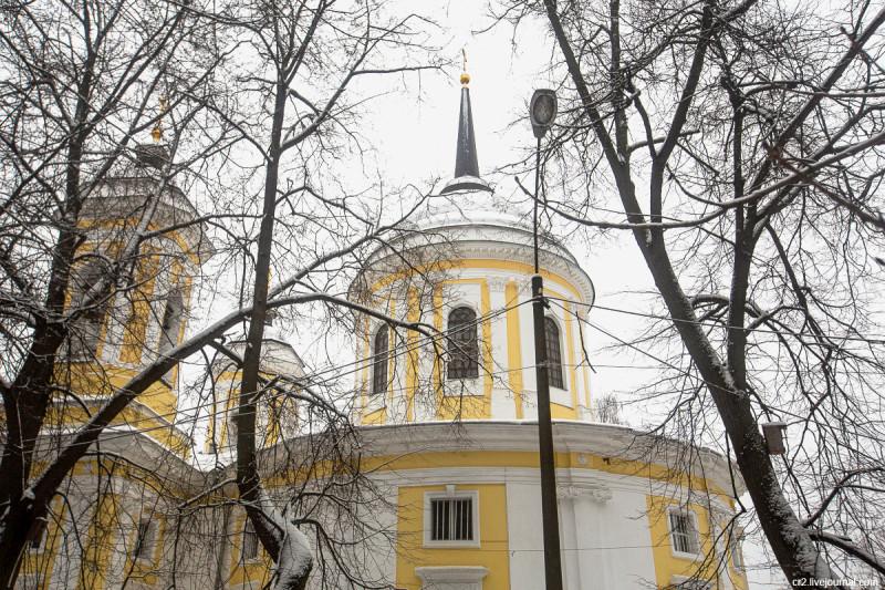 Усадьба Пехра-Яковлевское, Преображенский храм. Московская область