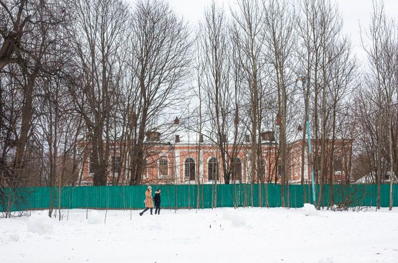 Усадьба Ясенево, главный дом. Москва