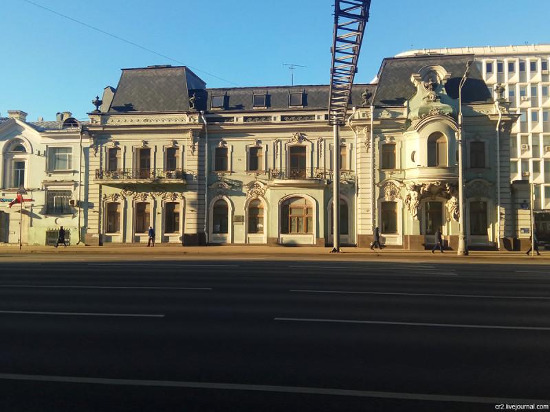 Особняк Кузнецовых на проспекте Мира. Москва