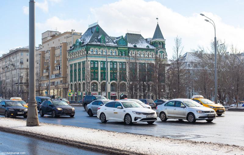 Бывший доходный дом Миансаровой. Москва
