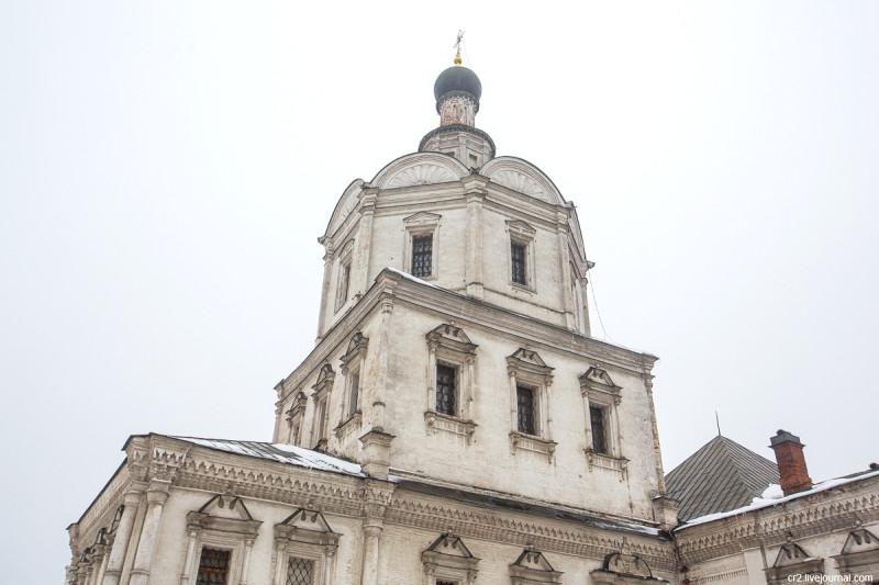 Храм Архангела Михаила бывшего Спасо-Андроникова монастыря. Москва