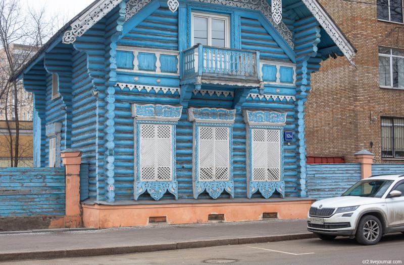 Погодинская изба. Москва