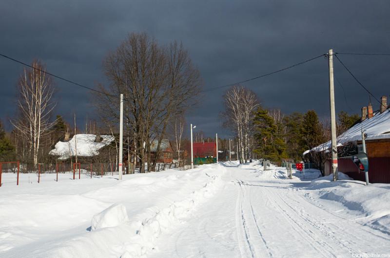 Посёлок Воймежный. Московская область