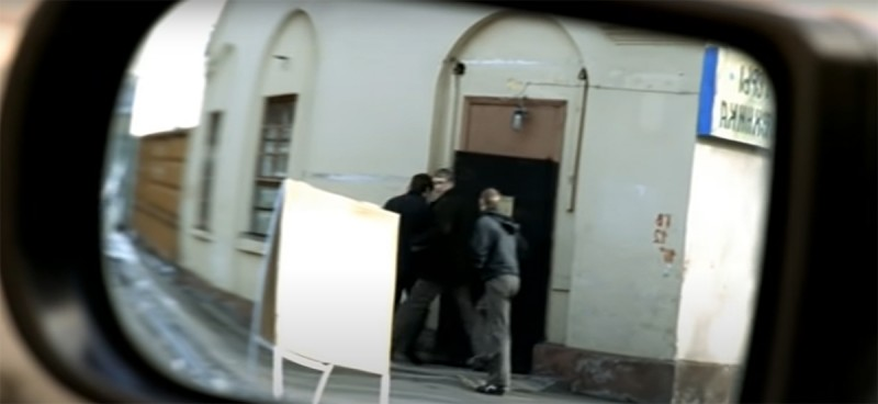 "Кадр из фильма ""Бумер"" (2003 год) режиссёра Петра Буслова"