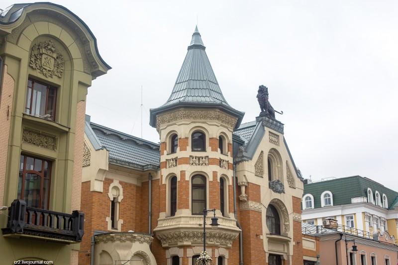 Особняк Кекушевых, детали. Москва