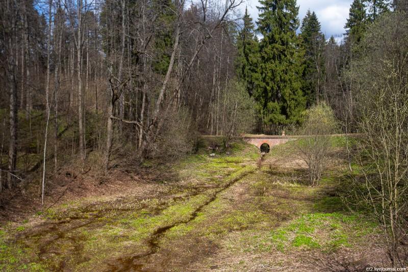 Вид с Чёртова моста. Усадьба Середниково, Московская область