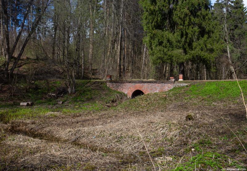 Средний мост. Усадьба Середниково, Московская область