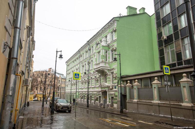 Дом 4/5с1 в Старосадском переулке, Москва