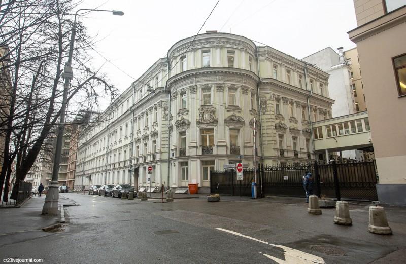 Дом Миклашевских в Брюсовом переулке. Москва