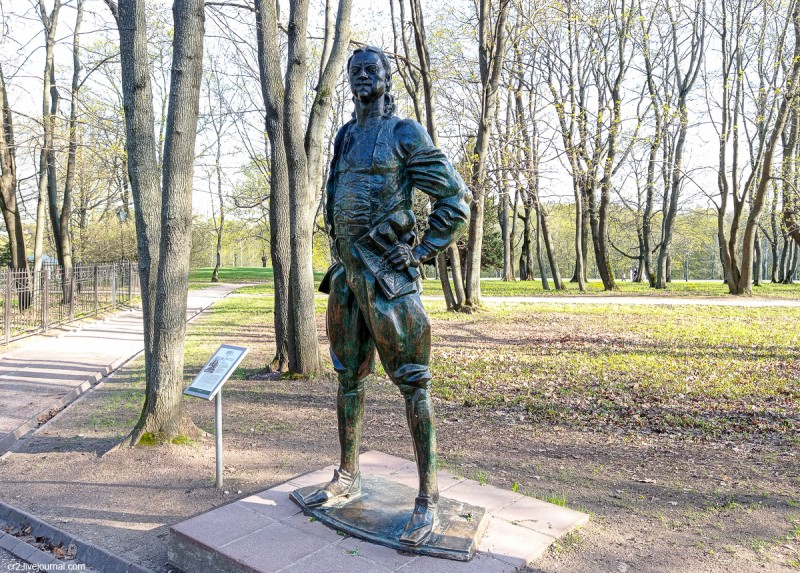 Памятник Петру I в Коломенском, скульптор Г. Франгулян. Москва