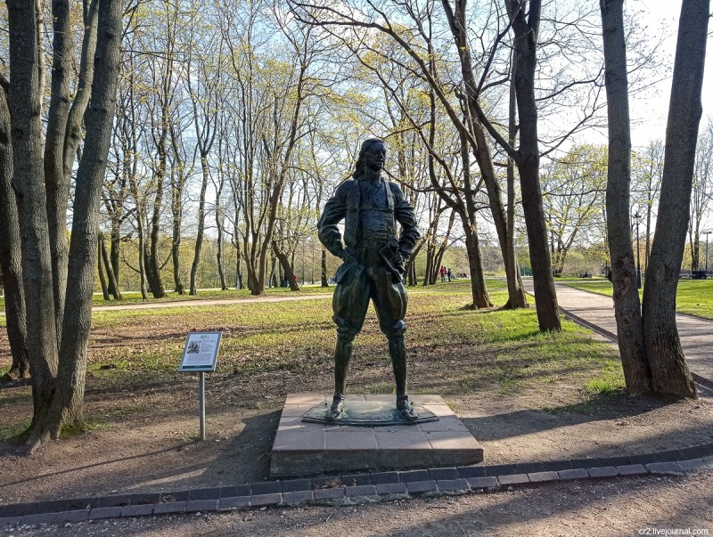 Памятник Петру I в Коломенском. Скульптор Г. Франгулян. Москва