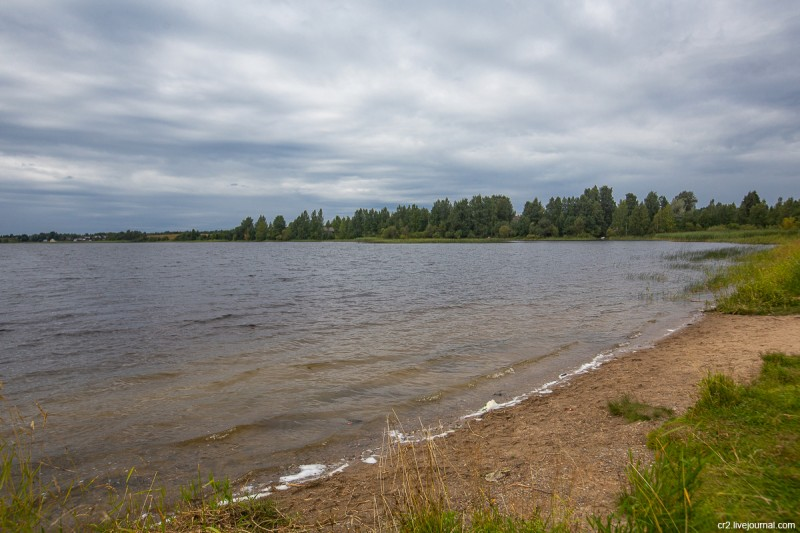 Ферапонтовское озеро. Вологодская область