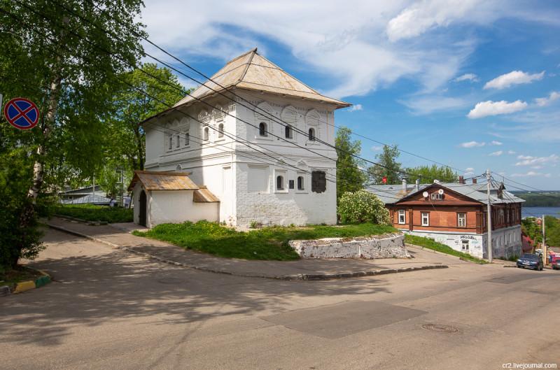 Домик Петра I. Нижний Новгород