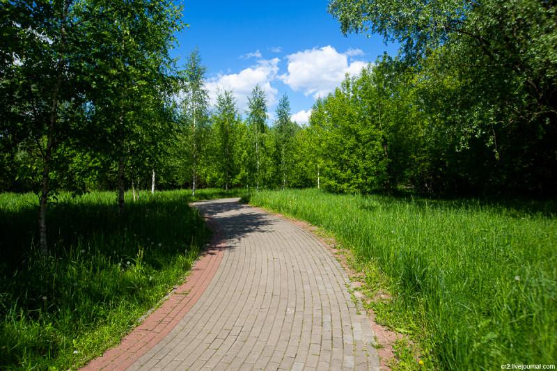 В парке Свиблово. Москва