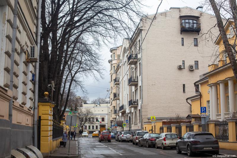 Чистый переулок. Москва