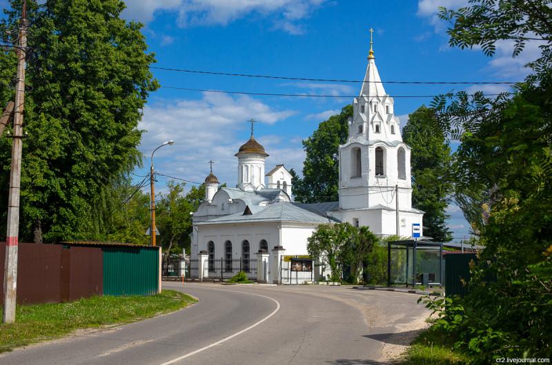 Иоанно-Предтеченская церковь на Городище. Коломна, Московская область