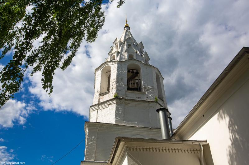 Иоанно-Предтеченская церковь на Городище, детали. Коломна, Московская область
