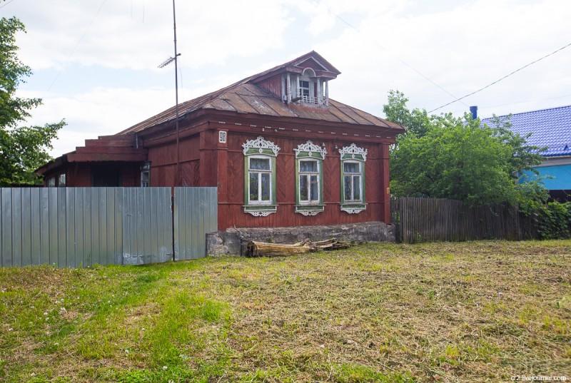 Бывшее село Городище, ныне одноимённый район Коломны. Застройка. Московская область