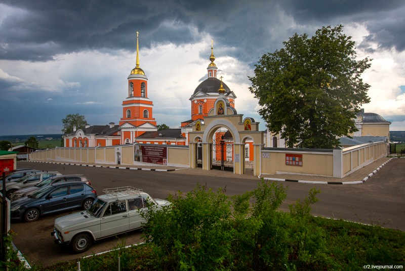 Никитский монастырь. Кашира, Московская область