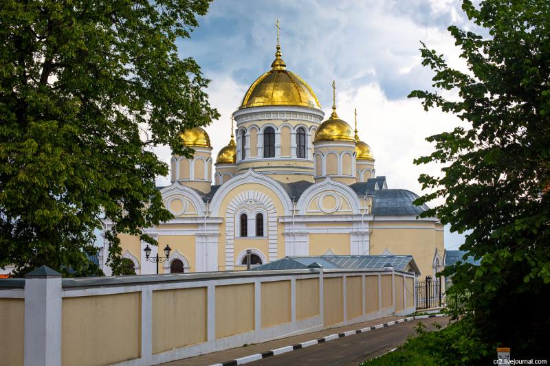 Преображенский собор Никитского монастыря. Кашира, Московская область