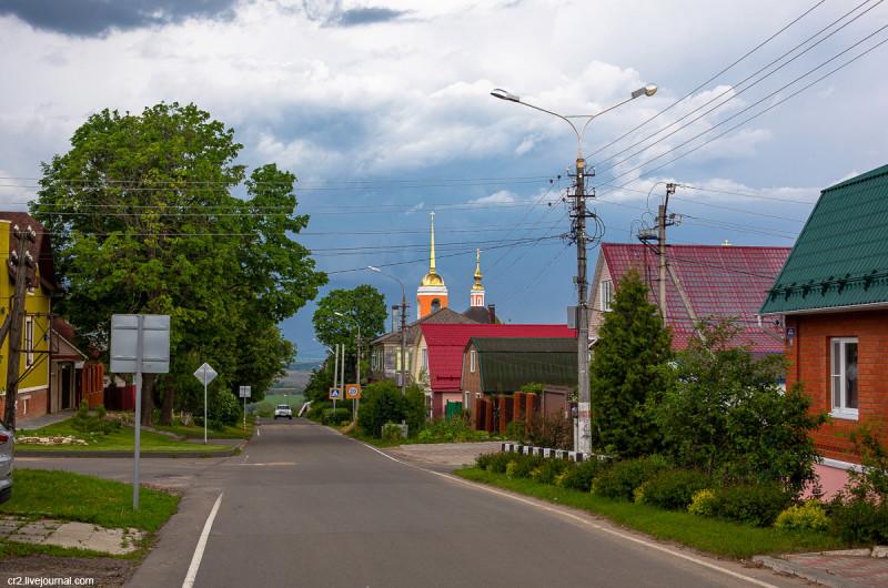 Дорога к Никитскому монастырю. Кашира, Московская область