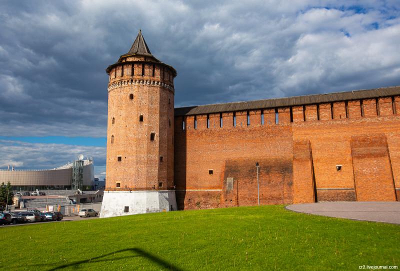 Маринкина башня Коломенского кремля. Коломна, Московская область