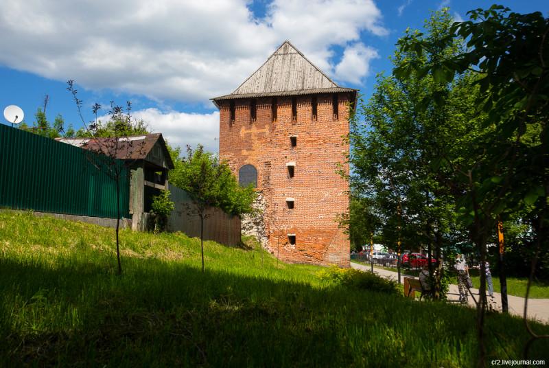 Спасская башня Коломенского кремля. Коломна, Московская область