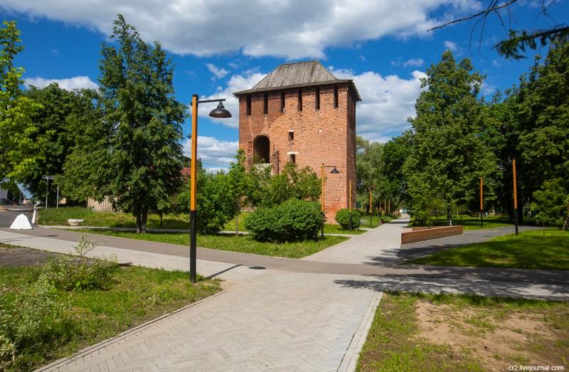 Семёновская башня Коломенского кремля. Коломна, Московская область