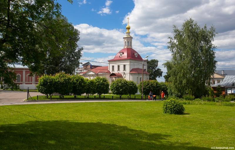 Воскресенский храм на территории Коломенского кремля. Коломна, Московская область