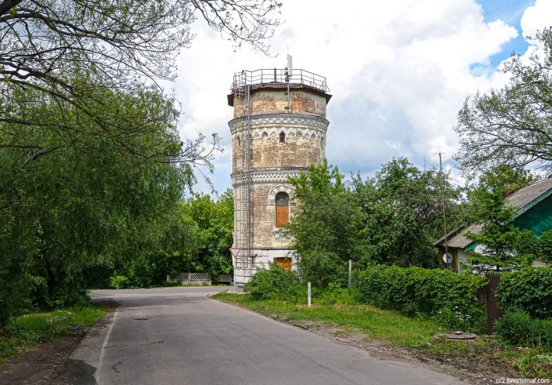 Старая водонапорная башня. Кашира, Московская область