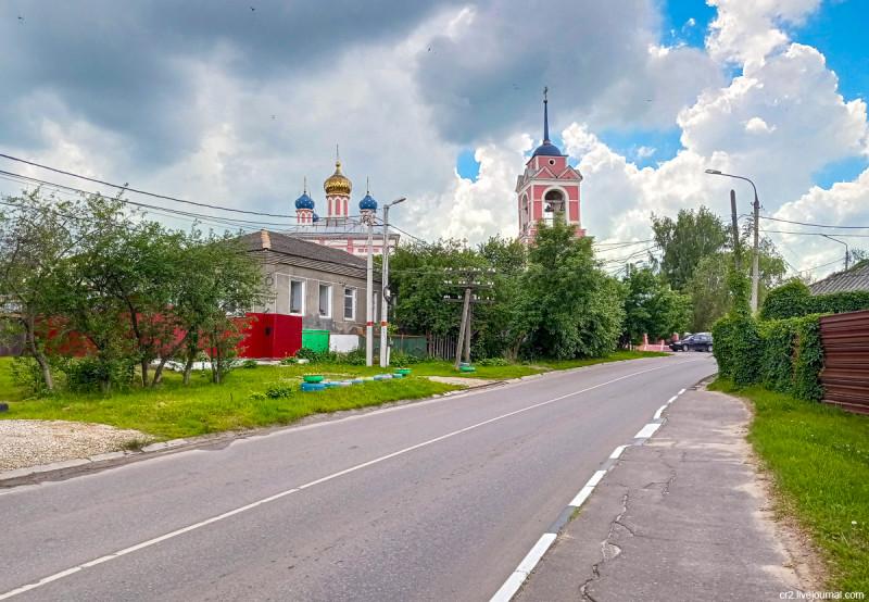 Храм Флора и Лавра в Ямской слободе. Кашира, Московская область