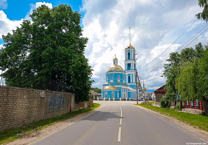 Вознесенская церковь. Кашира, Московская область