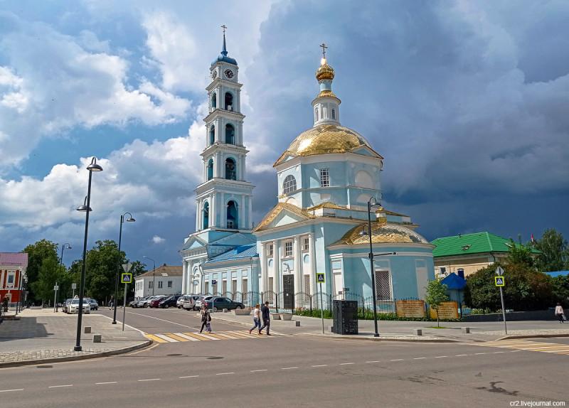 Введенская церковь. Кашира, Московская область