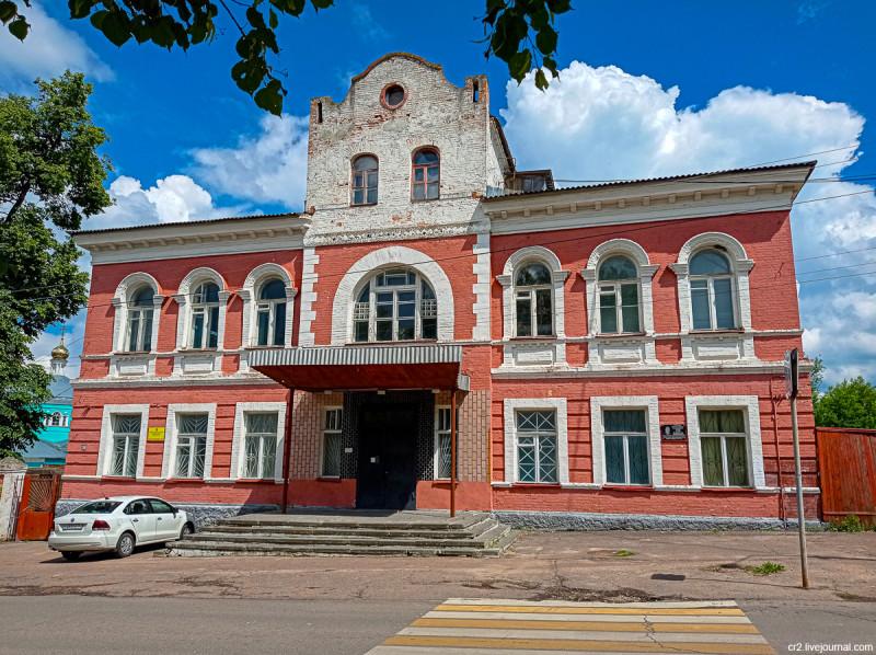 Здание бывшей Городской думы. Кашира, Московская область