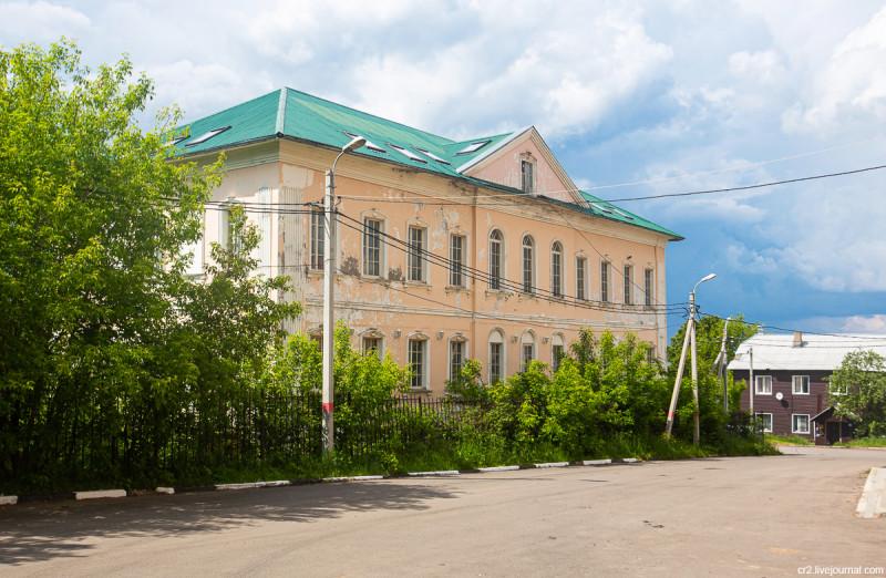 Здание присутственных мест. Кашира, Московская область