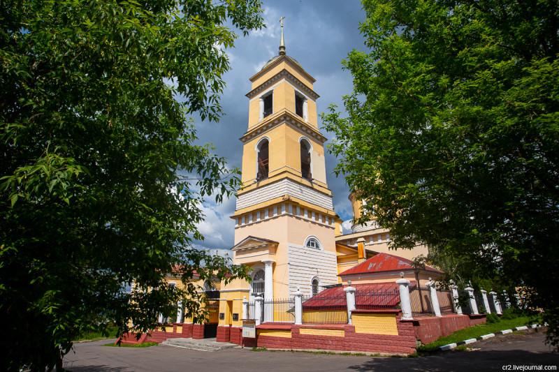 Успенский собор. Кашира, Московская область