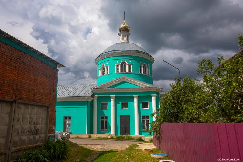 Храм Николы Ратного. Кашира, Московская область