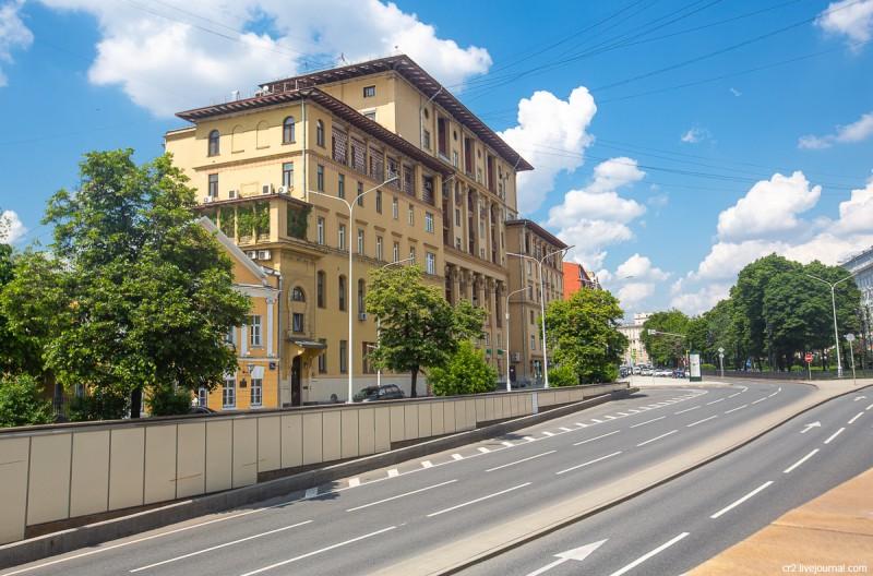 Дом полярников. Москва