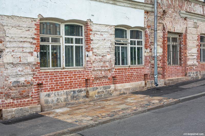 Часть бывшего дома Ярошенко. Москва