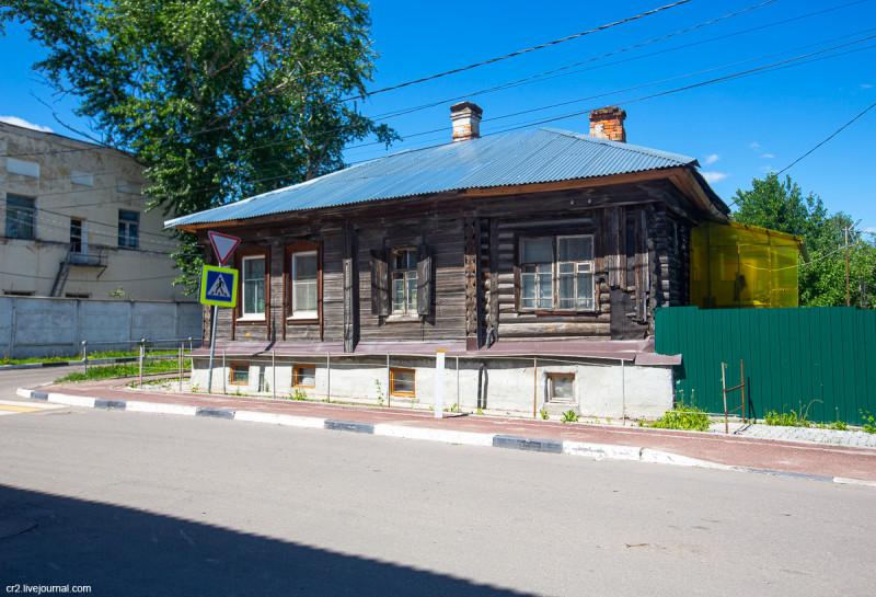 Застройка старой Коломны. Московская область