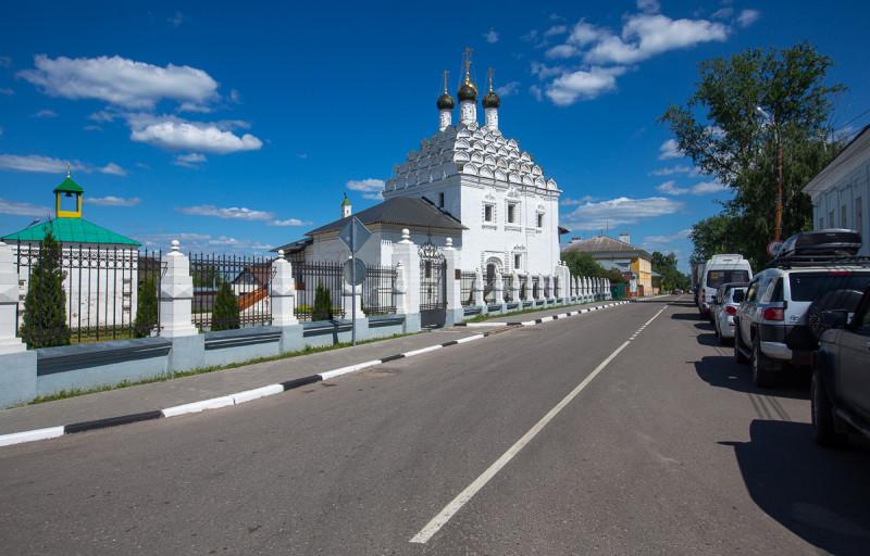 Храм Николы на Посаде - один из символов Коломны. Московская область