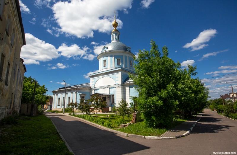 Покровская церковь. Коломна, Московская область