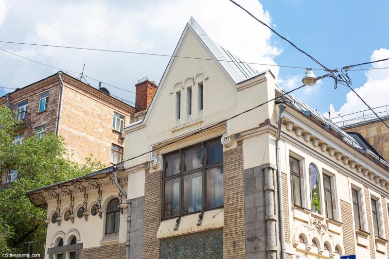 Особняк архитектора Соловьёва, детали. Москва