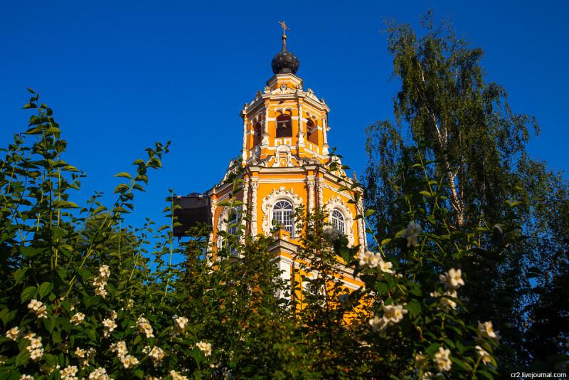 Спасский храм в селе Уборы, детали. Московская область, Одинцовский район