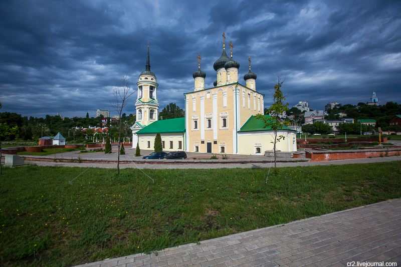 Воронеж. Успенский Адмиралтейский храм