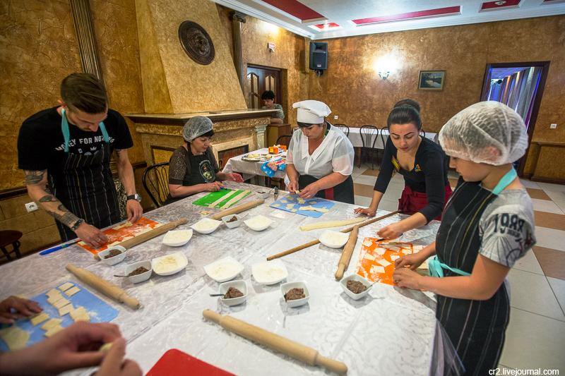 Знакомьтесь, донская кухня! Мастер-класс по приготовлению хашх–берек